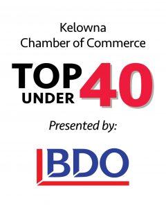 Kelowna Chamber of Commerce Top 40 Under 40