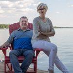 Dean Michel and Jennifer Bacon